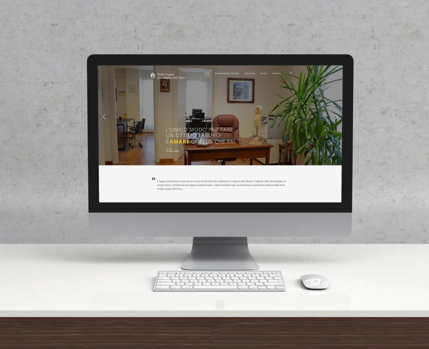 Sito internet Studio legale Angela Dell'Osso